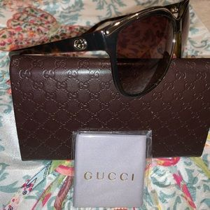 Gucci Sunglasses 3155/S in Havana Brown